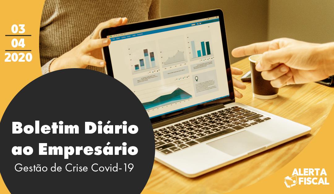 Boletim Diário ao Empresário | 03/04