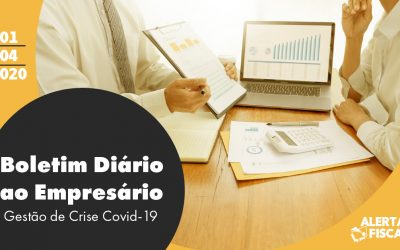 Boletim Diário ao Empresário | 01/04