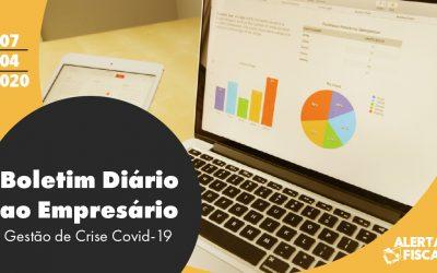 Boletim Diário ao Empresário | 07/04